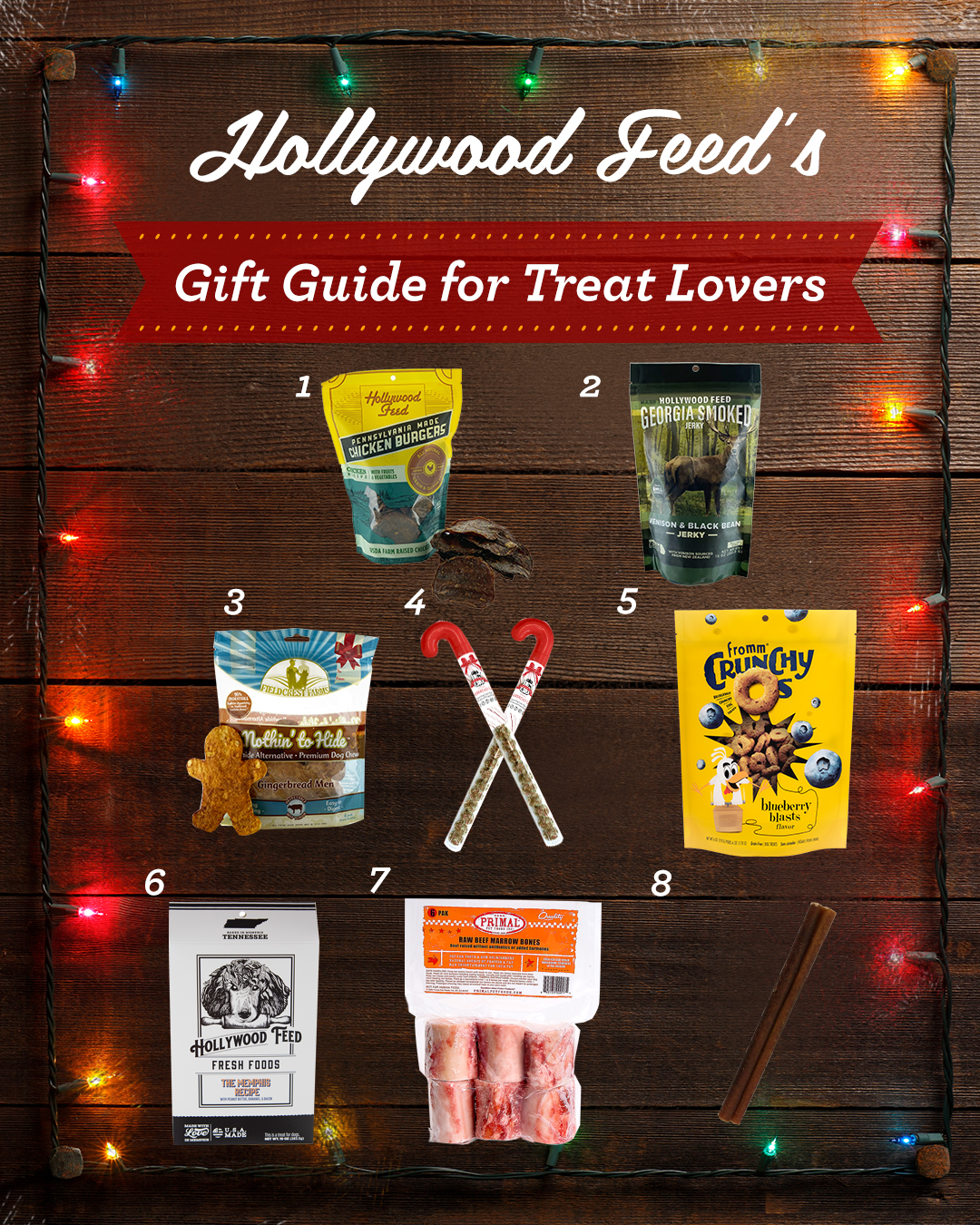 holywood feed's gift guide for treat lovers