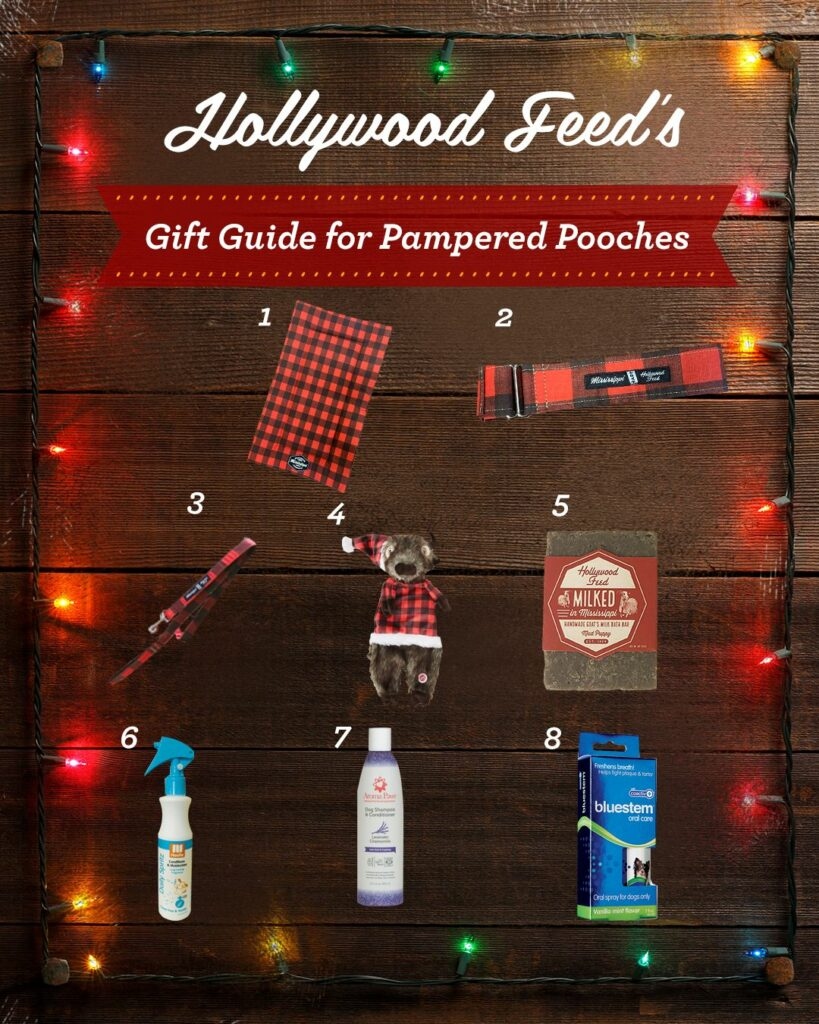 hollywood feed's gift guide for pampered pooches